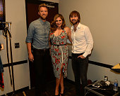 Charles Kelley Hillary Scott and Dave Haywood of Lady Antebellum attend the 2014 CMT Music Awards at Bridgestone Arena on June 4 2014 in Nashville...