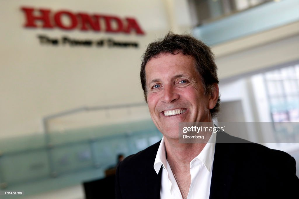 Charles Koch, manager of new business development for the American Honda Motor Co. Inc., stands for a photograph during a Pandora Media Inc. integrated entertainment system demonstration at the company's headquarters in Torrance, California, U.S., on Tuesday, Aug. 13, 2013. Honda Motor Co. has sold 218,000 Accords, and 191,000 Civics in the first 7 months of 2013, all standard with the integrated Pandora system. Photographer: Patrick Fallon/Bloomberg via Getty Images