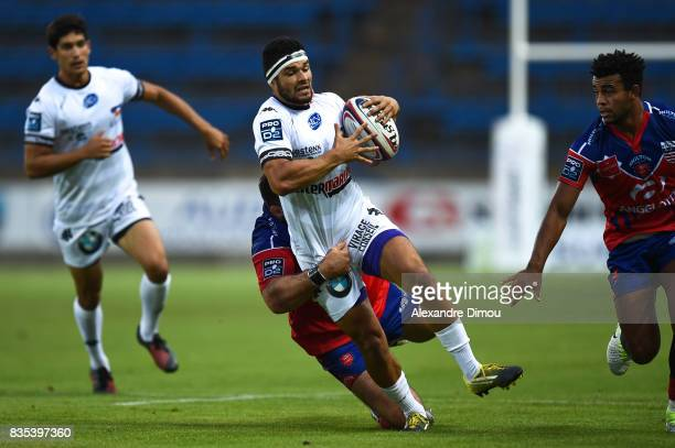 Charles Lagarde of Vannes during the Pro D2 match between Beziers and RC Vannes at on August 18 2017 in Beziers France