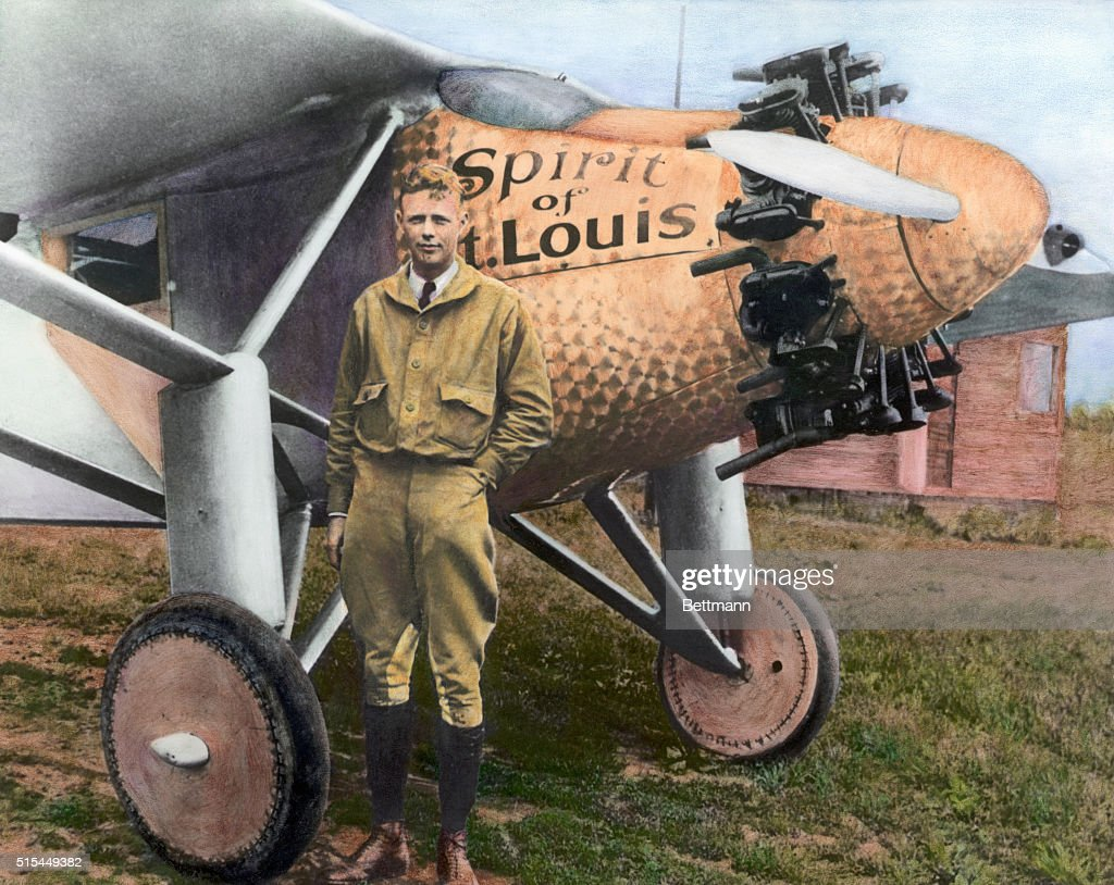 <a gi-track='captionPersonalityLinkClicked' href=/galleries/search?phrase=Charles+Lindbergh&family=editorial&specificpeople=70029 ng-click='$event.stopPropagation()'>Charles Lindbergh</a> with the Spirit of St. Louis