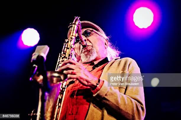 Charles Lloyd Performs at Jazz Middelheim Festival on August 03 2017 in Antwerp Belgium