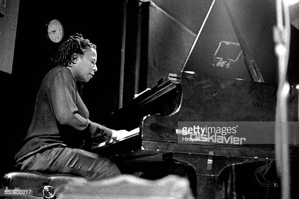 Charles Lloyd Quartet performing at the Knitting Factory as part of the Texaco New York Jazz Festival on June 6 1998This imageGeri Allen