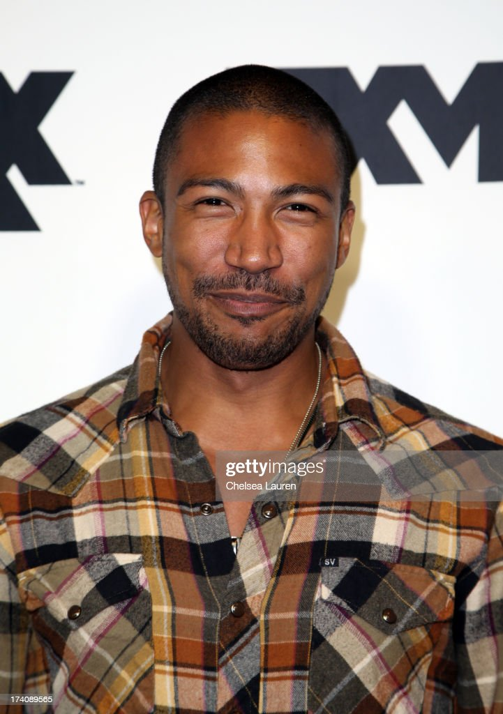 Charles Michael Davis attends the Maxim, FX and Home Entertainment Comic-Con Party on July 19, 2013 in San Diego, California.