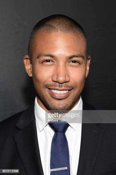 Charles Michael Davis attends the 'Younger' season four premiere party on June 27 2017 in New York City