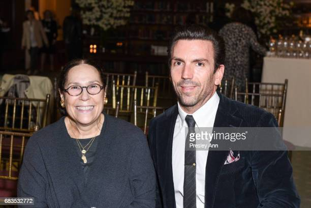 Charles Mitchem attends Audrey Gruss' Hope for Depression Research Foundation Dinner with Author Daphne Merkin at The Metropolitan Club on May 15...