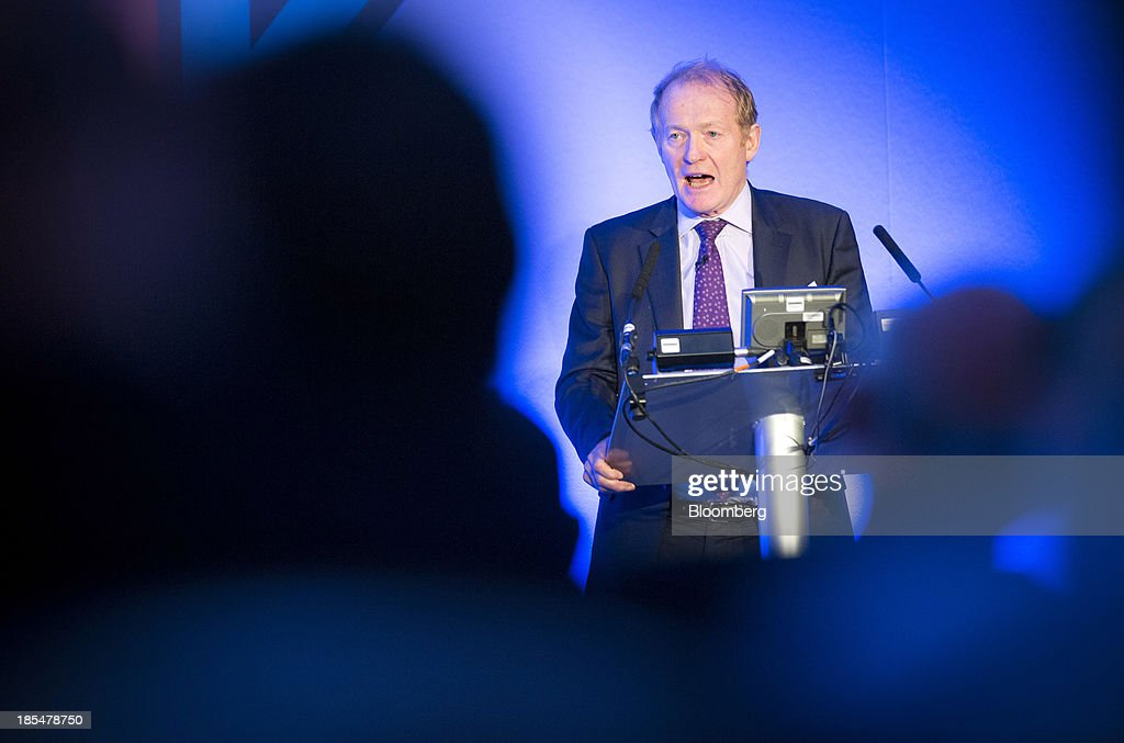 Charles Montgomery, director general of the U.K. Border Force, speaks during the Airport Operators Association (AOA) annual conference in London, U.K., on Monday, Oct. 21, 2013. The AOA conference is being held ahead of the Airports Commission interim report setting out a shortlist of options for maintaining the UK's status as an international hub for aviation. Photographer: Jason Alden/Bloomberg via Getty Images