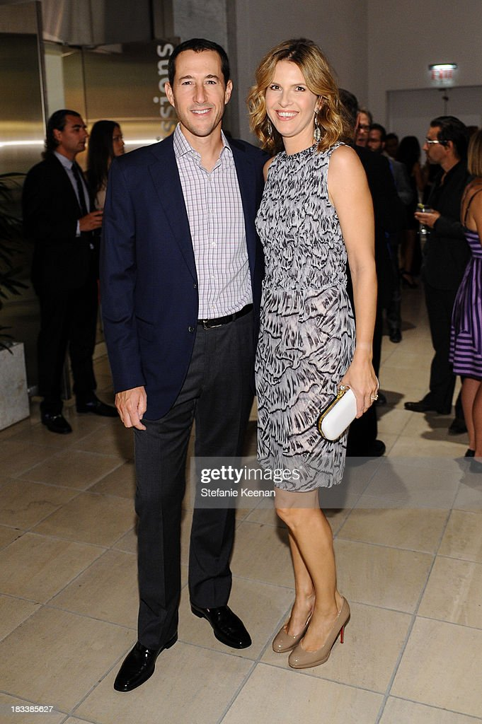 Charles Nelson and Candace Nelson attend Hammer Museum 11th Annual Gala In The Garden With Generous Support From Bottega Veneta, October 5, 2013, Los Angeles, CA at Hammer Museum on October 5, 2013 in Westwood, California.