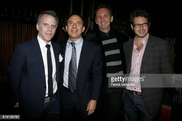 Charles Nolan Andrew Tobias William Neubauer and Bronson Van Wyck attend NEXT FALL Broadway show VIP Celebration After Party with ELTON JOHN...