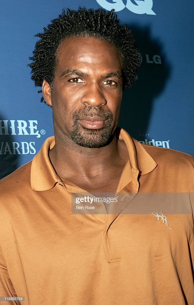 <a gi-track='captionPersonalityLinkClicked' href=/galleries/search?phrase=Charles+Oakley&family=editorial&specificpeople=213241 ng-click='$event.stopPropagation()'>Charles Oakley</a> during GQ Magazine's Bombay Sapphire Fresh Dressed Awards at Compound in Atlanta, GA, United States.