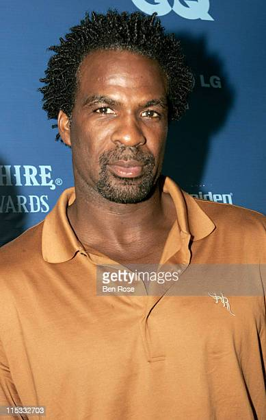 Charles Oakley during GQ Magazine's Bombay Sapphire Fresh Dressed Awards at Compound in Atlanta GA United States