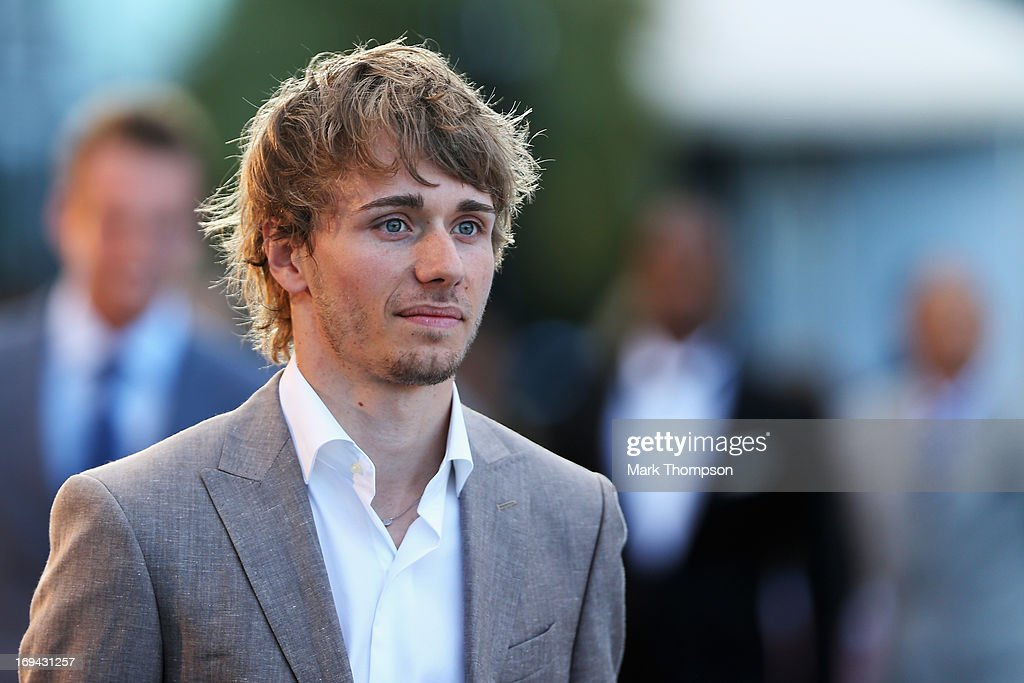 Charles Pic of France and Caterham attends the Amber Lounge Charity Fashion event at Le Meridien Beach Plaza Hotel on May 24 2013 in Monaco Monaco