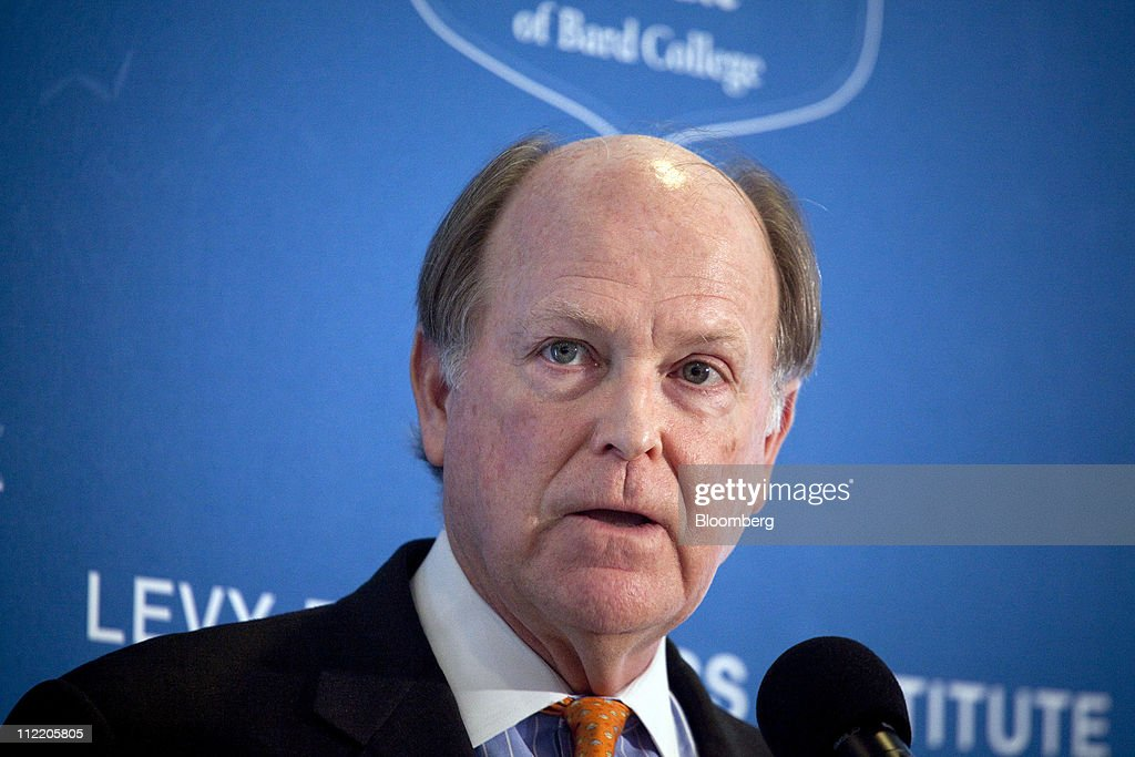 <a gi-track='captionPersonalityLinkClicked' href=/galleries/search?phrase=Charles+Plosser&family=editorial&specificpeople=6564347 ng-click='$event.stopPropagation()'>Charles Plosser</a>, president and chief executive officer of the Federal Reserve Bank of Philadelphia, speaks at the Levy Economics Institute conference in New York, U.S., on Thursday, April 14, 2011. Plosser said the U.S. central bank should set a numerical inflation target to promote price stability as it prepares to withdraw record monetary stimulus. Photographer: Michael Nagle/Bloomberg via Getty Images