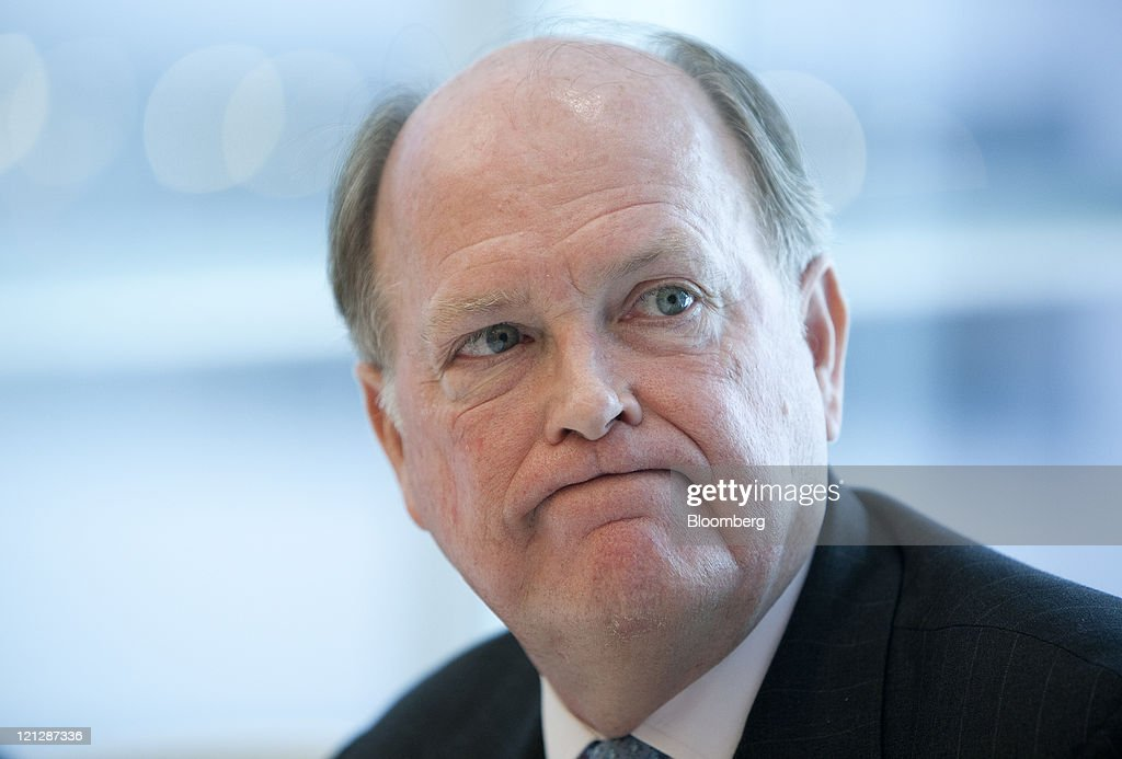 <a gi-track='captionPersonalityLinkClicked' href=/galleries/search?phrase=Charles+Plosser&family=editorial&specificpeople=6564347 ng-click='$event.stopPropagation()'>Charles Plosser</a>, president and chief executive officer of the Federal Reserve Bank of Philadelphia, pauses during an interview in New York, U.S., on Wednesday, Aug. 17, 2011. Plosser told Bloomberg via Getty Images Radio today that policy makers should have waited to see how the economy performed before pledging on Aug. 9 to hold rates at record lows for two years. Photographer: Scott Eells/Bloomberg via Getty Images