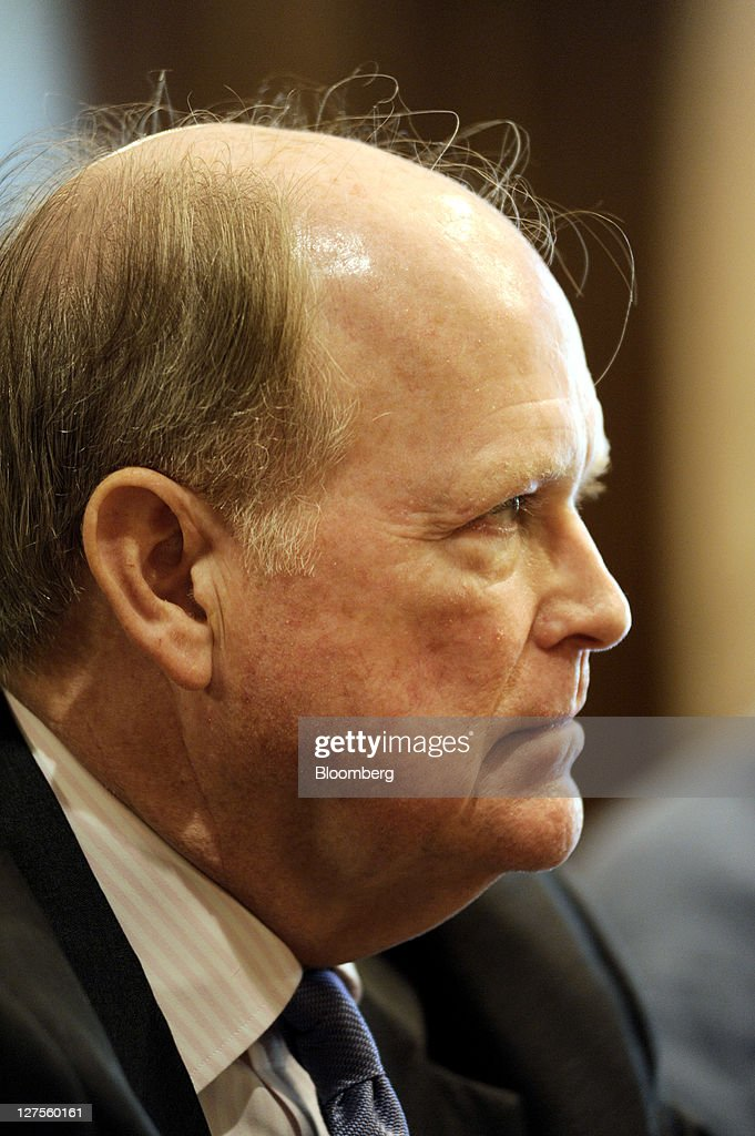 <a gi-track='captionPersonalityLinkClicked' href=/galleries/search?phrase=Charles+Plosser&family=editorial&specificpeople=6564347 ng-click='$event.stopPropagation()'>Charles Plosser</a>, president and chief executive officer of the Federal Reserve Bank of Philadelphia, listens to a question during an event at the Villanova School of Business in Radnor, Pennsylvania, U.S., on Thursday, Sept. 29, 2011. Plosser said the central bank may be undermining its own credibility by pushing forward with monetary easing that will do little to boost growth. Photographer: Bradley C. Bower/Bloomberg via Getty Images