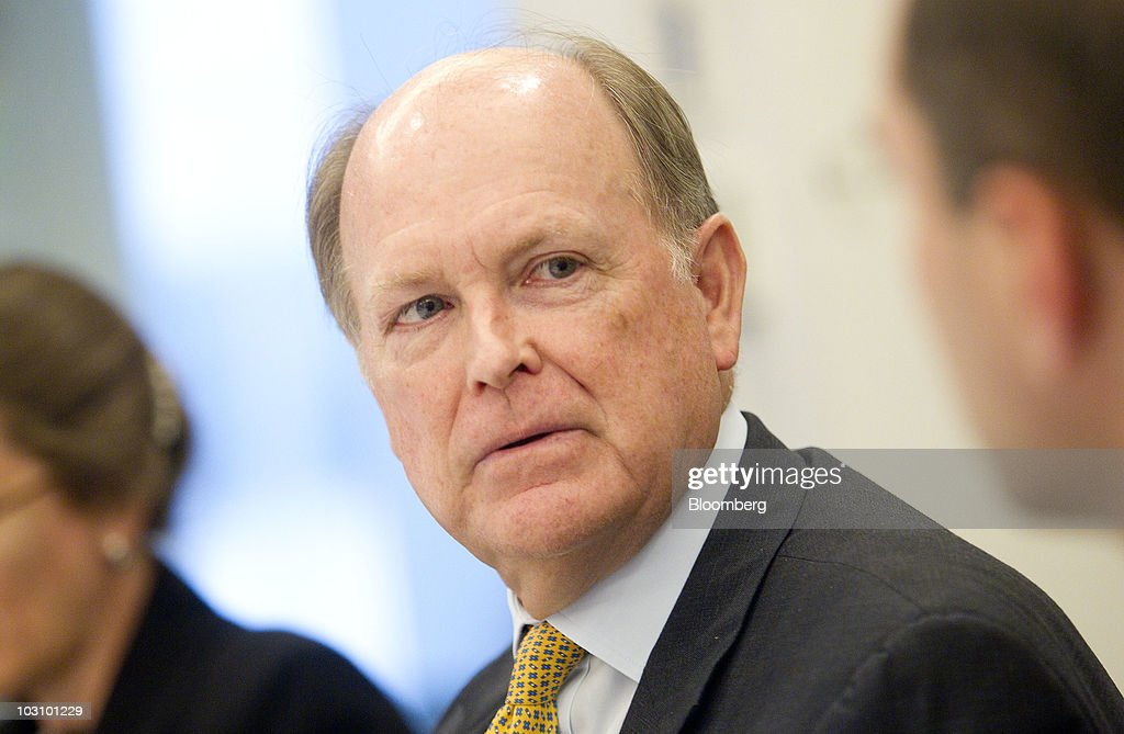 <a gi-track='captionPersonalityLinkClicked' href=/galleries/search?phrase=Charles+Plosser&family=editorial&specificpeople=6564347 ng-click='$event.stopPropagation()'>Charles Plosser</a>, president of the Federal Reserve Bank of Philadelphia, speaks during an interview in Washington, D.C., U.S., on Monday, July 26, 2010. Plosser said he sees no need now for more monetary stimulus while noting fundamental strength in the economy. Photographer: Andrew Harrer/Bloomberg via Getty Images