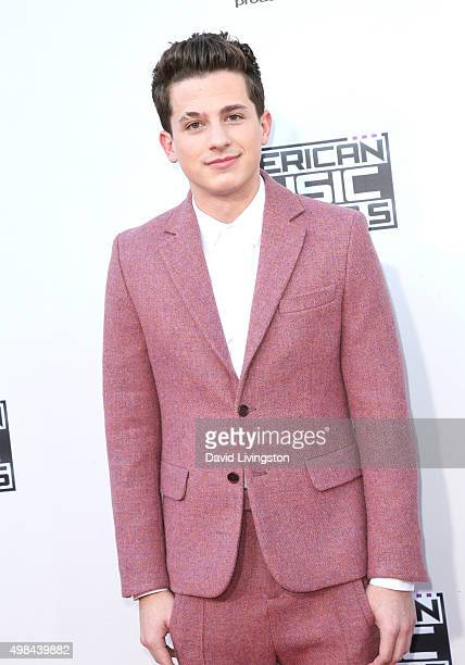 Charles Puth arrives at the 2015 American Music Awards at Microsoft Theater on November 22 2015 in Los Angeles California