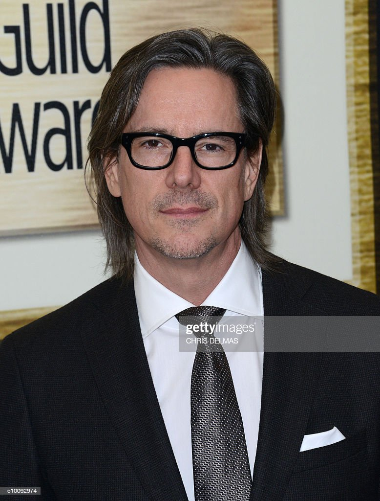 Charles Randolph arrives for the Writers Guild Awards in Century City, California, February 13, 2016. / AFP / CHRIS DELMAS