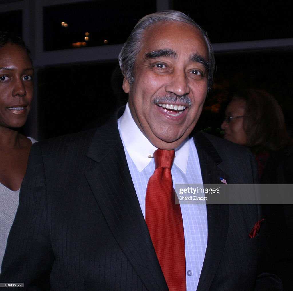 Charles Rangel during Grand Opening of Earl Monroe's Restaurant in New York City - October 31, 2005 at Earl Monroe's in New York City, New York, United States.