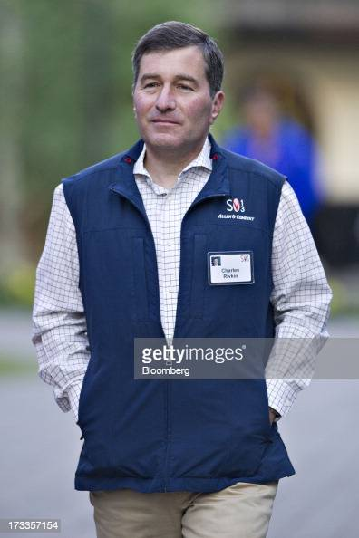 Charles Rivkin the US ambassador to France arrives for a morning session during the Allen Co Media and Technology Conference in Sun Valley Idaho US...