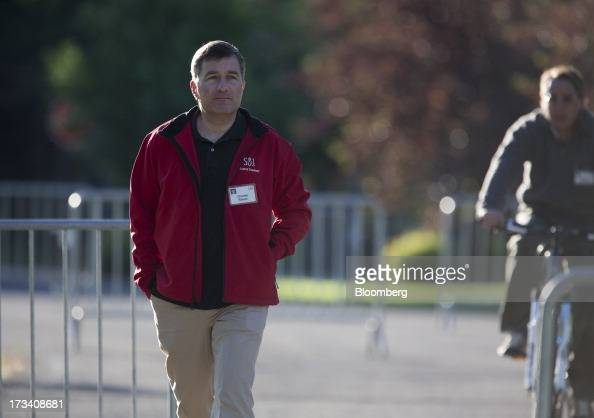 Charles Rivkin the US ambassador to France walks to a morning session at the Allen Co Media and Technology Conference in Sun Valley Idaho US on...