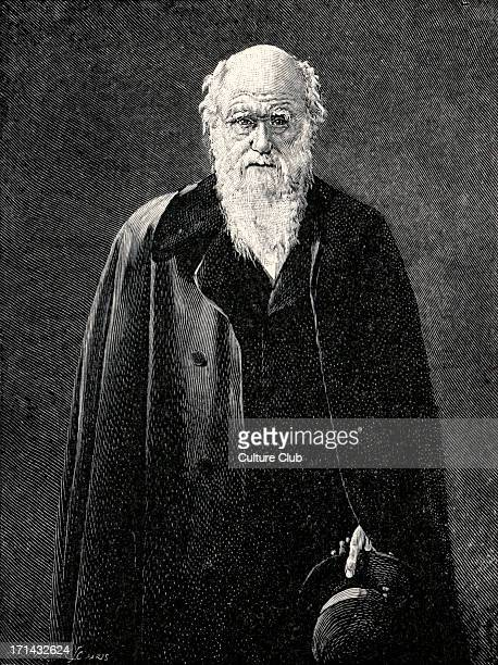 Charles Robert Darwin English naturalist the originator of the theory of evolution by natural selection 18091882 Engraving after the portrait by the...