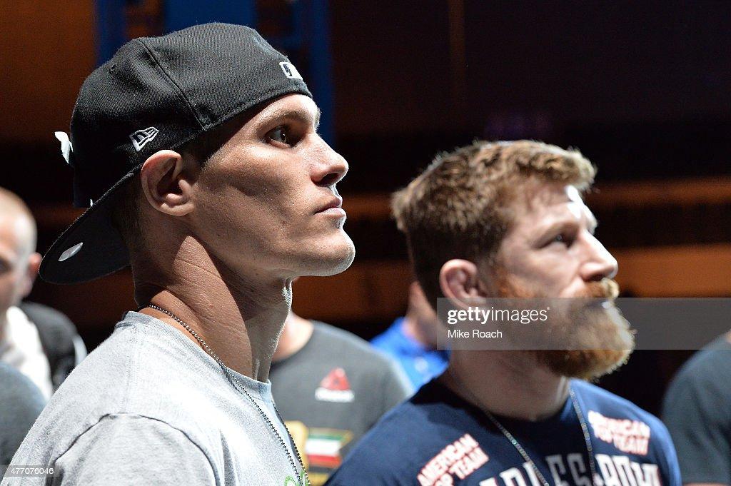 UFC 188: Weigh-ins