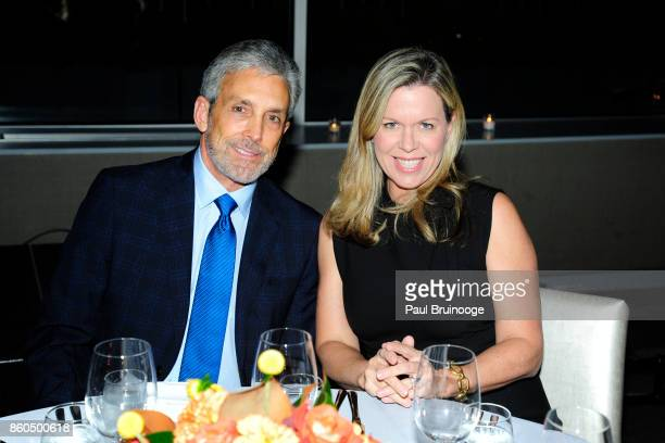 Charles S Cohen and Ashley Whittaker attend the Decoration and Design Building celebrates the 2017 winners of the DDB's 10th Anniversary of Stars of...
