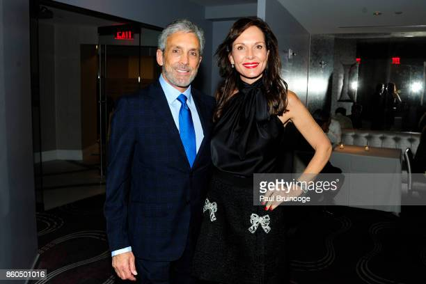 Charles S Cohen and Clo Cohen attend the Decoration and Design Building celebrates the 2017 winners of the DDB's 10th Anniversary of Stars of Design...