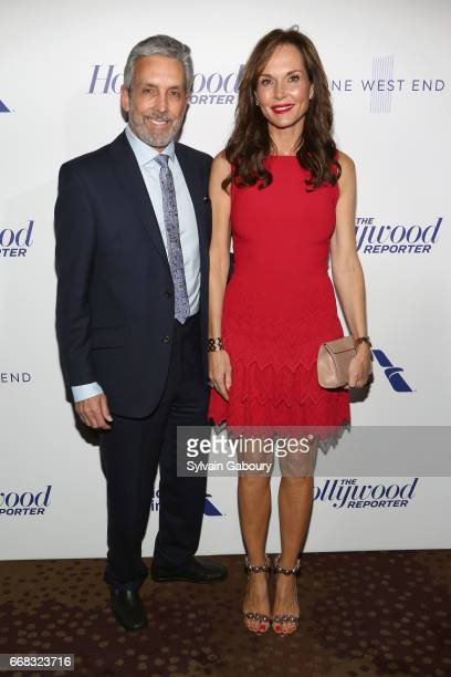 Charles S Cohen and Clo Cohen attends The Hollywood Reporter's 35 Most Powerful People In Media 2017 on April 13 2017 in New York City