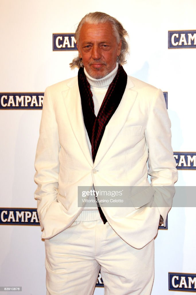 Charles Schumann attends the Club Campari, 2009 Campari Calendar launch at La Permanente on December 2, 2008 in Milano, Italy.