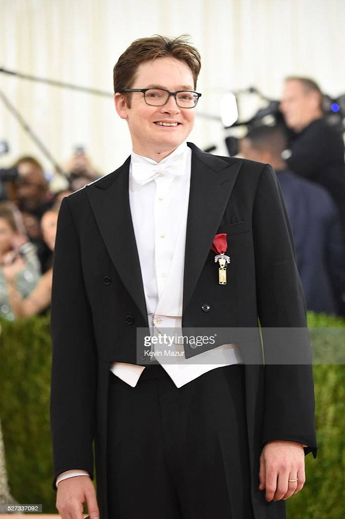 Charles Shaffer attends 'Manus x Machina: Fashion In An Age Of Technology' Costume Institute Gala at Metropolitan Museum of Art on May 2, 2016 in New York City.