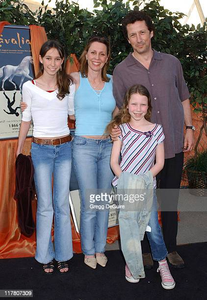 Charles Shaughnessy and family during Opening Night of 'Cavalia' Arrivals at Big Top in Glendale in Glendale California United States
