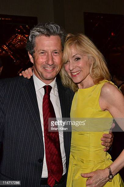 Charles Shaughnessy and Judith Light attend the premiere of 'The Best Is Yet to Come The Music of Cy Coleman' at 59E59 Theaters on May 25 2011 in New...