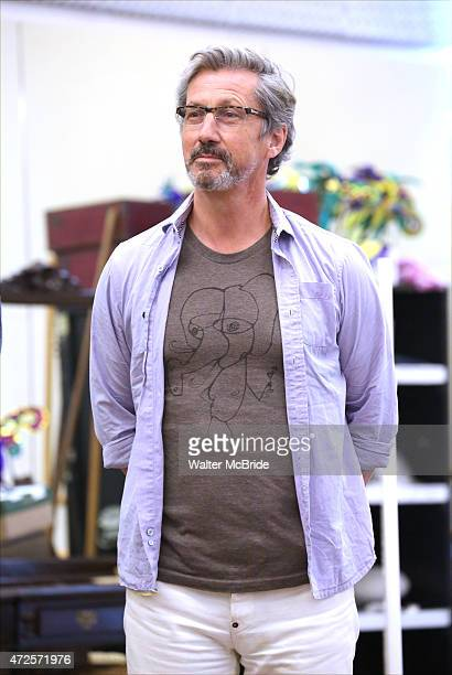 Charles Shaughnessy during a press rehearsal for the Paper Mill Playhouse production of 'Ever After' at the New 42nd Street Studios on May 7 2015 in...