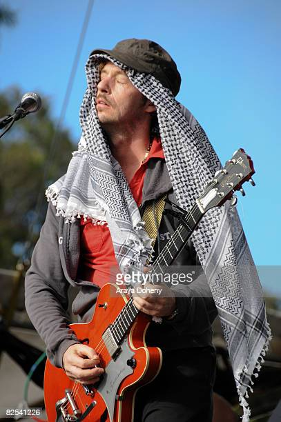Charles Spearin of Broken Social Scene performs on Day 3 of the Outside Lands Music and Arts Festival on August 24 2008 in San Francisco California