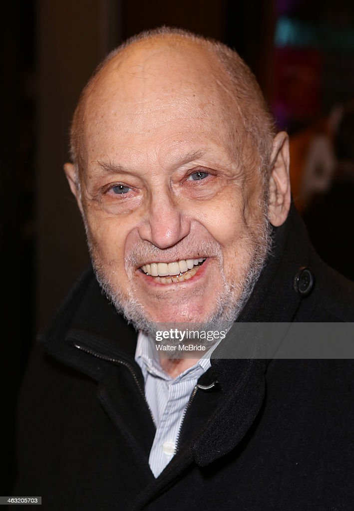 <a gi-track='captionPersonalityLinkClicked' href=/galleries/search?phrase=Charles+Strouse&family=editorial&specificpeople=2216071 ng-click='$event.stopPropagation()'>Charles Strouse</a> attends the Broadway opening night of 'Machinal' at American Airlines Theatre on January 16, 2014 in New York, New York.