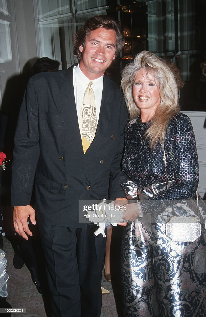 Charles Taylor and <a gi-track='captionPersonalityLinkClicked' href=/galleries/search?phrase=Connie+Stevens&family=editorial&specificpeople=217812 ng-click='$event.stopPropagation()'>Connie Stevens</a> during Westwood Shriners Gala - June 9, 1991 at Beverly Hilton Hotel in Beverly Hills, California, United States.