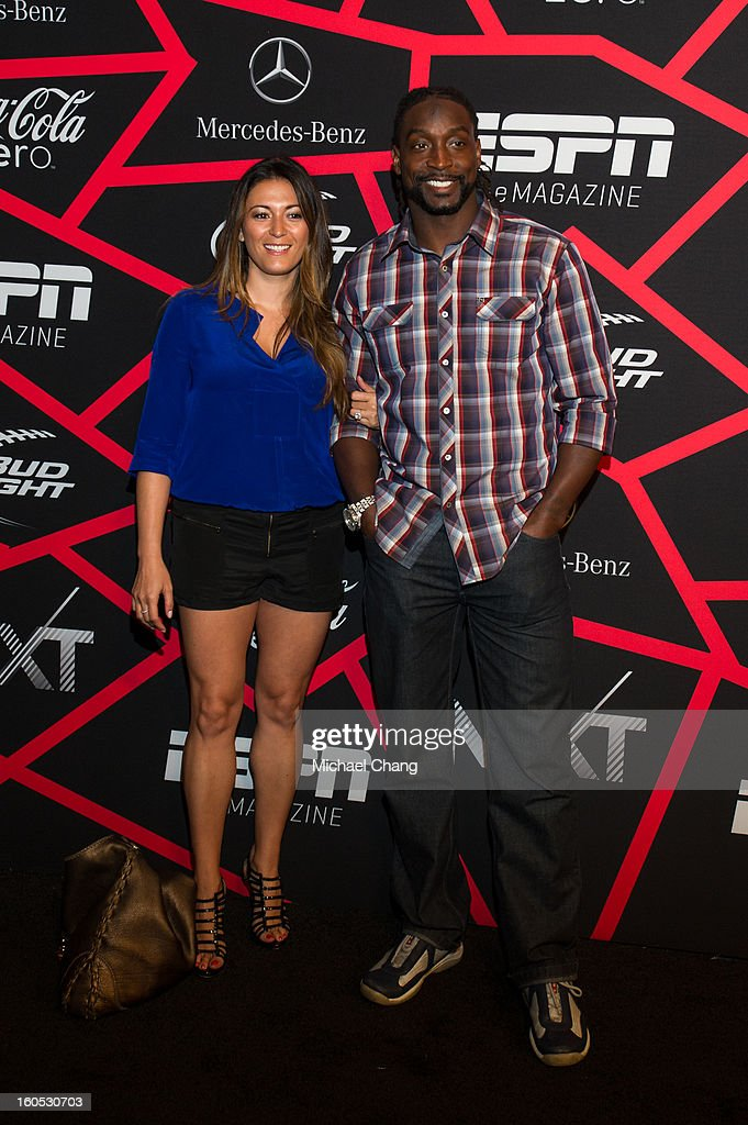 <a gi-track='captionPersonalityLinkClicked' href=/galleries/search?phrase=Charles+Tillman&family=editorial&specificpeople=217609 ng-click='$event.stopPropagation()'>Charles Tillman</a> and guest attends ESPN The Magazine's 'Next' Event at Tad Gormley Stadium on February 1, 2013 in New Orleans, Louisiana.