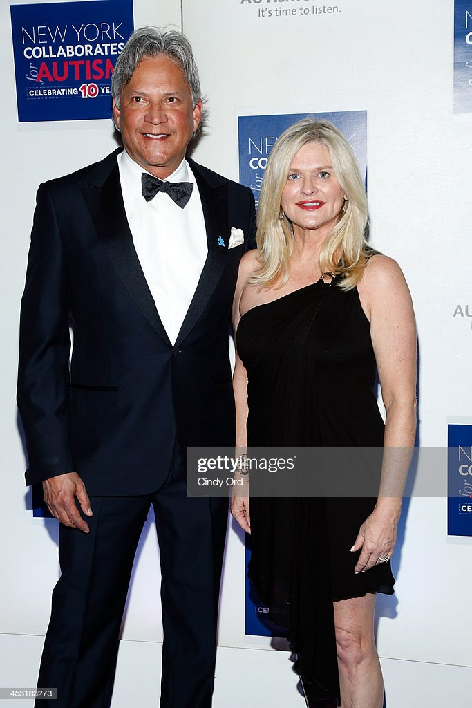 Charles Turney and CEO and President of Victoria's Secret Sharen Jester Turney attend the Winter Ball for Autism at Metropolitan Museum of Art on December 2, 2013 in New York City.