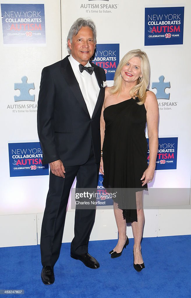 Charles Turney and Sharen Jester Turney President/CEO of Victoria's Secret attend the 2013 Winter Ball For Autism at the Metropolitan Museum of Art...