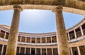 Charles V Palace circular patio