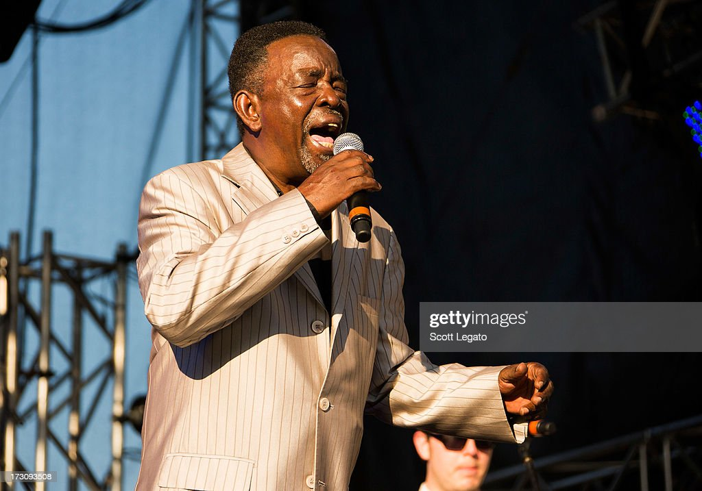 Charles Walker performs with The Dynamites during the Quebec Festival D'ete on July 6, 2013 in Quebec City, Canada.