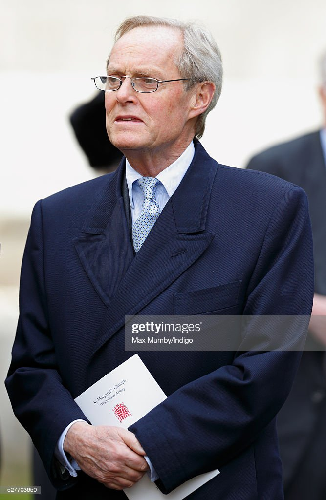 Charles Wellesley, 9th Duke of Wellington attends a Service of Thanksgiving for the life of Geoffrey Howe (Lord Howe of Aberavon) at St Margaret's Church, Westminster Abbey on May 3, 2016 in London, England. Conservative politician Geoffrey Howe who served as Chancellor of the Exchequer and Foreign Secretary during the 1980's died aged 88 on October 9, 2015.