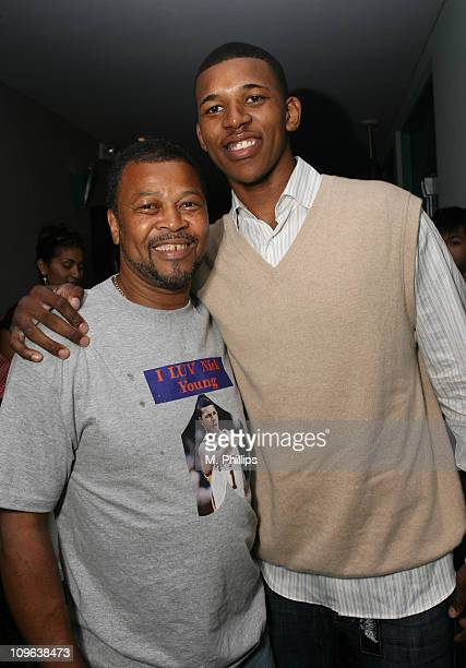 Charles Young and Nick Young during 2007 Los Angeles Film Festival 'Second Chance Season' Screening at Mann Festival in Los Angeles California United...