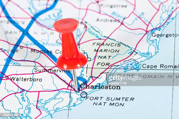 Map Of South Carolina Stock Photos And Pictures Getty Images - South carolina in usa map