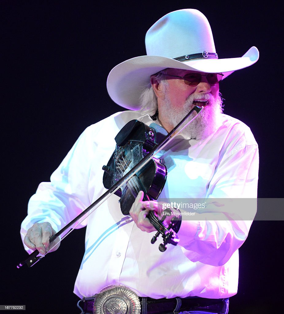 Charley Daniels of the Charlie Daniels Band performs as part of the Stagecoach Music Festival at the Empire Polo Grounds on April 28, 2013 in Indio, California.