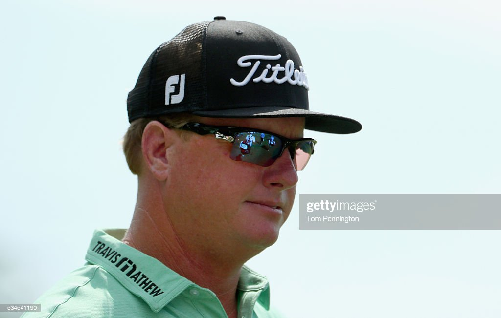 <a gi-track='captionPersonalityLinkClicked' href=/galleries/search?phrase=Charley+Hoffman&family=editorial&specificpeople=578840 ng-click='$event.stopPropagation()'>Charley Hoffman</a> looks on from the 11th hole during the First Round of the DEAN & DELUCA Invitational at Colonial Country Club on May 26, 2016 in Fort Worth, Texas.
