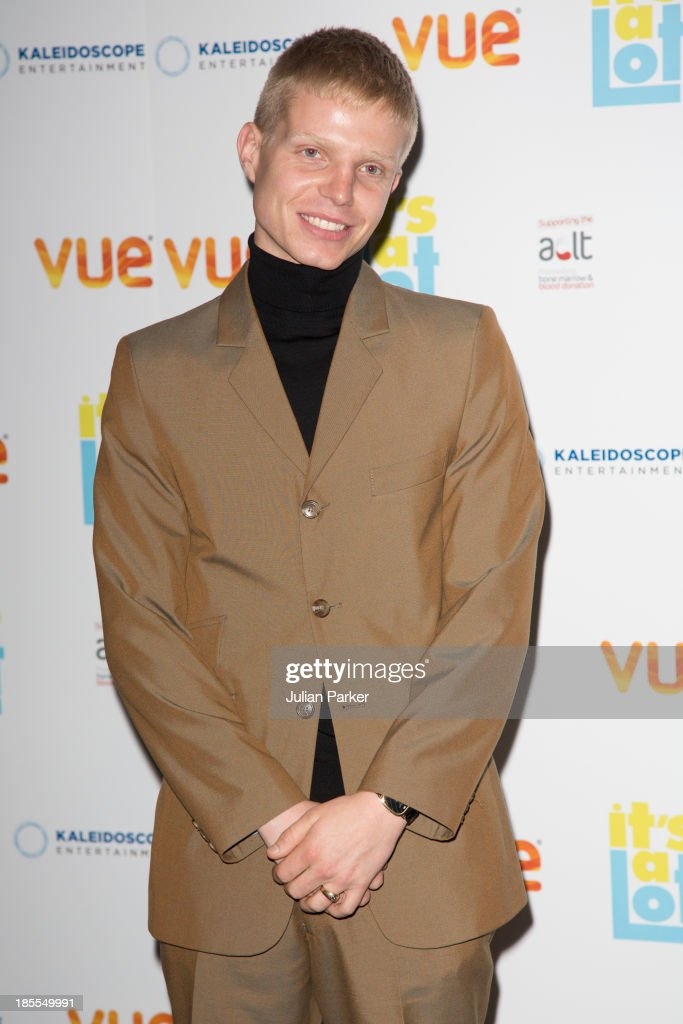Charley Palmer Merkell attends the West End Premiere of 'It's A Lot' at Vue West End on October 21, 2013 in London, England.