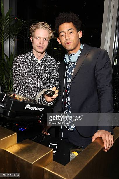 Charley Palmer Rothwell and Jordan Stephens at Christian Lacroix Paris Supa Model Management And GREY GOOSE Host for London Collections Mens At...