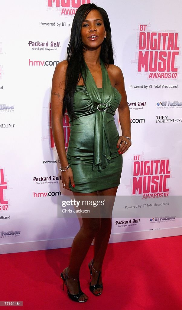 Charley Uchea arrives at the BT Digital Music Awards at the Roundhouse on October 2 2007 in London England